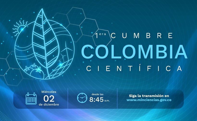 Primera Cumbre Colombia Científica