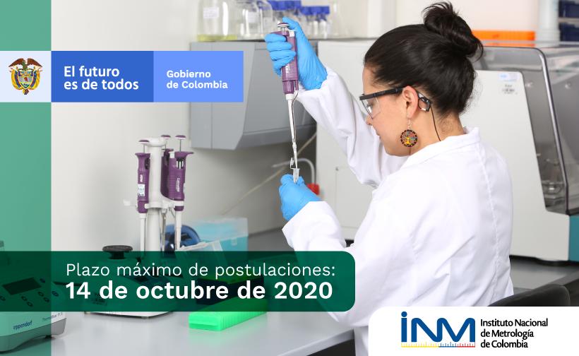 convocatoria de cofinanciación para proyectos de fortalecimiento de capacidades de laboratorios de calibración o de ensayo del país