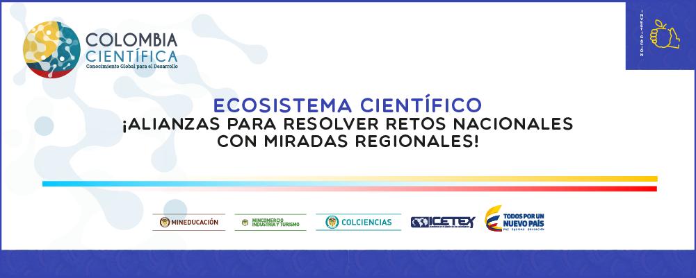 Colombia Científica - Convocatoria Ecosistema Científico