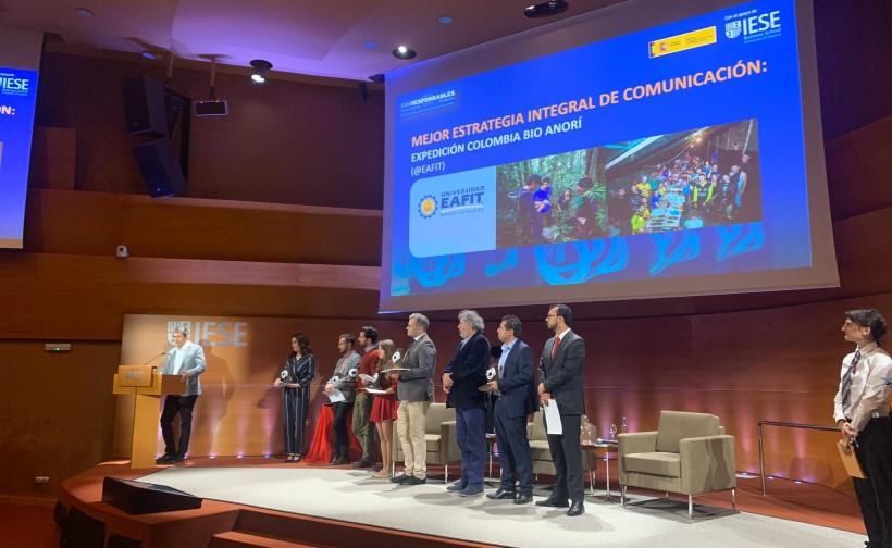 Colombia ganó el premio a mejor Estrategia de Comunicación Responsable en las campañas de comunicación más innovadoras de organizaciones y empresas.