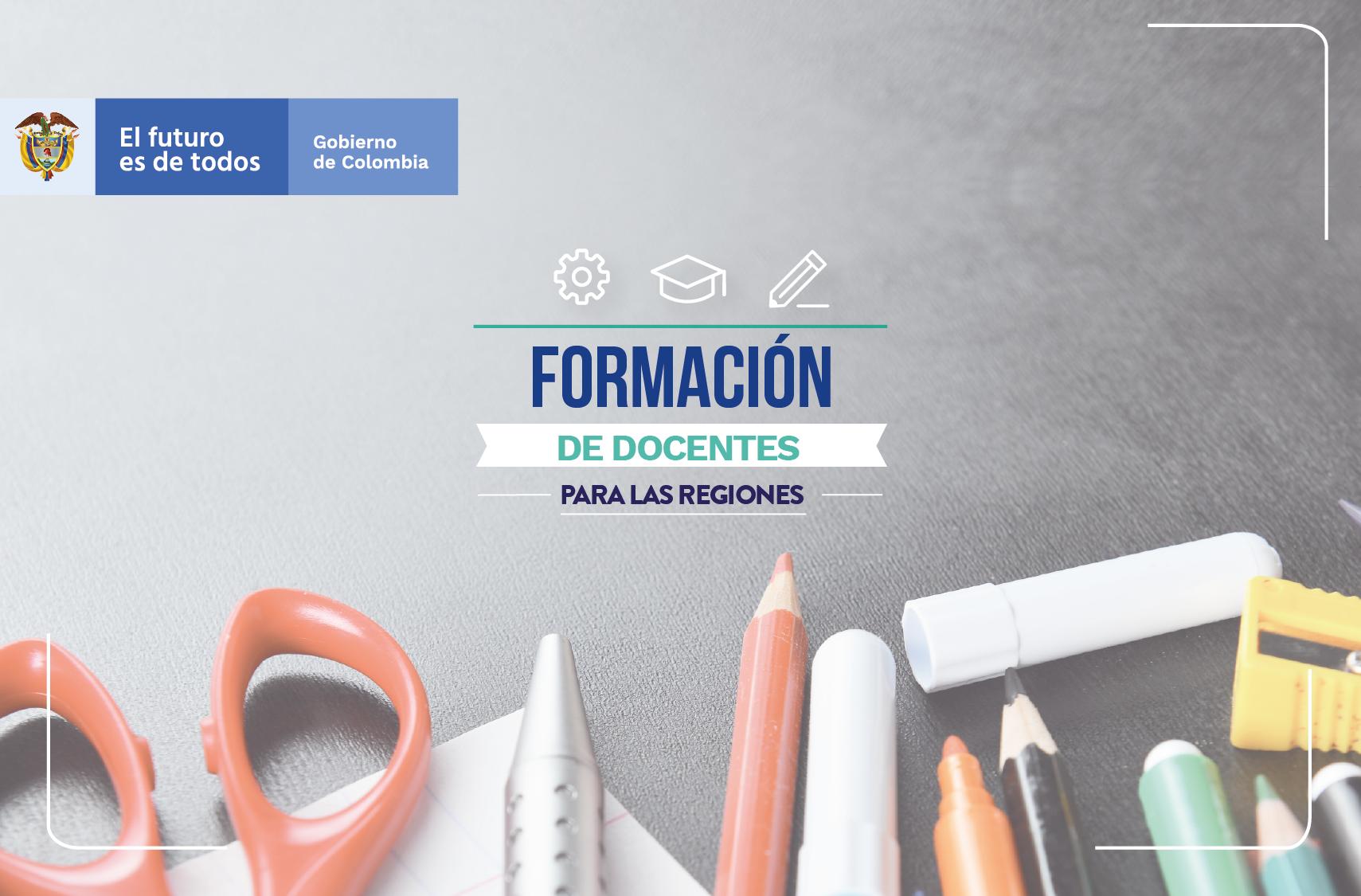 Convocatorias de formación de docentes en Bolívar y Boyacá.