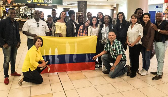 Niños Ondas de Chocó y Valle exponen la ciencia colombiana en Ecuador