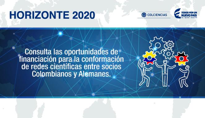 Consulta las oportunidades de financiación para la conformación de redes científicas entre socios Colombianos y Alemanes.
