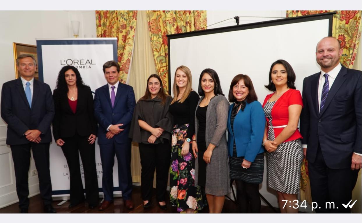 Premio mujeres de ciencia 2018.