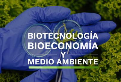 Biotecnología, Bieconomía y medio ambiente