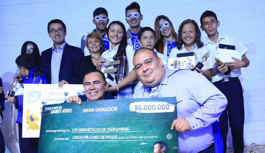 """La categoría de """"Gran Ganador"""" se la llevó el equipo Los Energéticos, de Tauramena Casanare"""