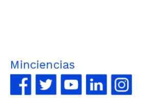 Redes sociales Mincienciaton