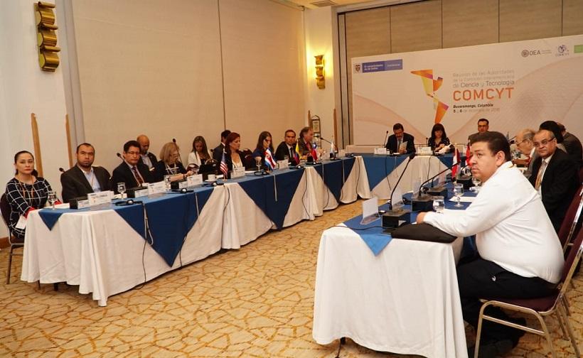 Reunión de Autoridades de la Comisión Interamericana de Ciencia y Tecnología -COMCYT-