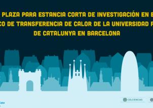 Convocatoria para estancias cortas en Barcelona