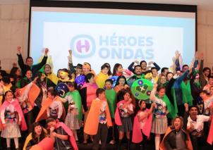 Lanzamiento de la Comunidad Virtual Héroes Ondas y Programa de radio Buena Onda