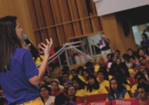 """Niños Bucaramanga: """"El Programa Ondas nos ayuda a enamorarnos de la ciencia"""""""