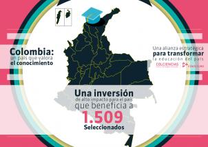 Colciencias y Colfuturo le apuestan al desarrollo profesional de los Colombianos