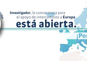 Convocatoria intercambio de investigadores en el marco de proyectos con Europa 2