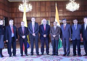 Colombia y la India sellan programa de cooperación científica y tecnológica