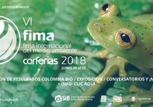 Colciencias, SiB Colombia y el Instituto Humboldt en FIMA 2018