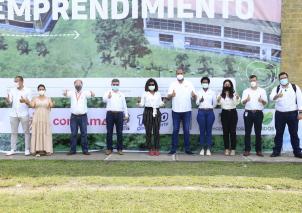 Imágenes del  lanzamiento del Centro Regional de Investigación, Innovación y Emprendimiento- CRIIE que tendrá Urabá (Antioquia)