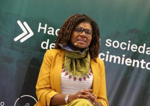 Mabel Torres, Ministra de Ciencia, tecnología e innovación.