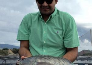Jorge Muñoz, gerente de Coolfish, empresa de acuicultura.Foto:lanacion.com.co
