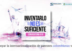 Apoyamos la internacionalización de patentes colombianas vía PCT