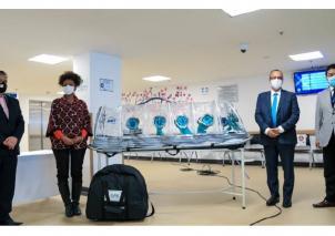 Entrega e instalación de las primeras cámaras despresurizadas para pacientes infectados con el virus COVID-19