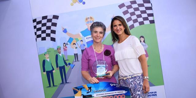 Empresa Soluciones Microbianas del Trópico ocupó primer lugar. Foto/LinaBotero