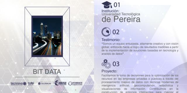 Universidad Tecnológica de Pereira, Bit Data