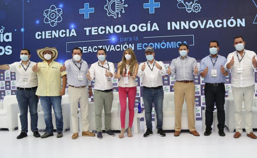 Minciencias junto a la Federación Nacional de Departamentos, realizó la firma de las actas de inicio de ejecución de 16 proyectos científicos, que reactivarán las economías locales de esta región.
