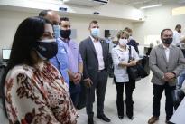 l ministro de Ciencia, Tito Crissien, visitó tres laboratorios que robustecen las capacidades de diagnóstico e investigación de agentes biológicos de alto riesgo para la salud humana.