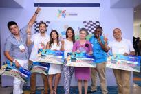 Premiación a empresarios ganadores del concurso INNOVA 100K. Foto/Lina Botero