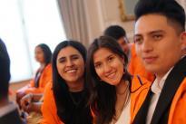 La convocatoria NexoGlobal apoya a 64 estudiantes que realizarán una pasantía de investigación + creación en IES en Estados Unidos y a su vez jóvenes 46 de pregrado y posgrado de ese país realizarán estancias asociadas a investigación + creación.