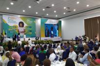 """""""Un hecho que me anima a seguir trabajando en el fortalecimiento de las regiones. Entre todos podemos unir fuerzas poderosas para transformar el país"""", dijo la Ministra."""