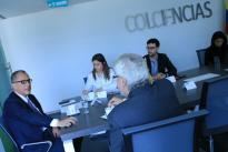Reunión con el Embajador de Alemania en Colombia, PETER PTASSEK, sobre cooperación y prioridades en CTeI definidas en el Plan Nacional de Desarrollo.