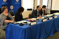 Colciencias preside en Washington D.C., EE.UU., un encuentro preparatorio con los delegados de los países de la OEA para la Quinta Reunión de Ministros y Altas Autoridades de Ciencia y Tecnología de las Américas que se realizará en noviembre en Medellín.