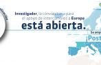 Se amplía el plazo para participar en la convocatoria intercambio de investigado