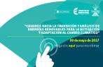 Participa en el conversatorio sobre energías renovables y cambio climático