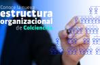 Estructura organizacional y funcional Colciencias