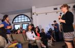 La científica colombiana de la NASA invitó a los jóvenes a vivir una experiencia única en un viaje espacial