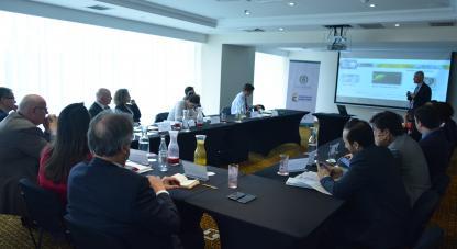Director de Colombia Bio, Felipe García presenta a Fundación alemana la estrategia del proyecto