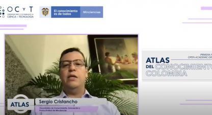 Lanzamiento ATLAS del conocimiento Colombia
