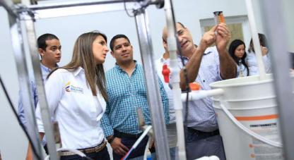 Con uso de las CTeI Caracolí logró potabilización del agua