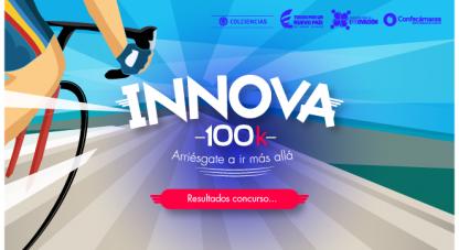 Conoce el listado de los ganadores del concurso Innova 100K