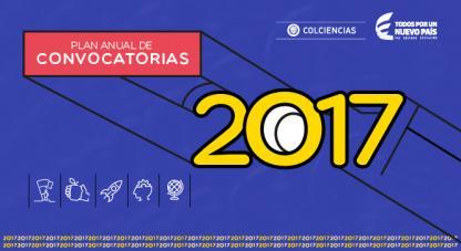 Banner home Plan Anual de Convocatorias 2017