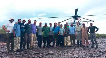 Colombia Bio cierra con éxito exploración al parque Chiribiquete