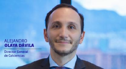 Director de colciencias Alejandro Olaya