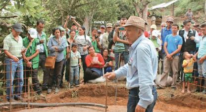 Campesinos cientìficos. Foto: Semana