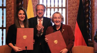 Colciencias afianza lazos de cooperación con el estado de Baden Wurtemberg de Alemania
