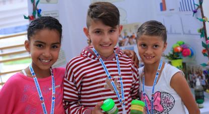 Entre el 31 de mayo y el 2 de junio, 74 niños y jóvenes investigadores compartieron sus proyectos de investigación en el evento ¡Yo amo la Ciencia!