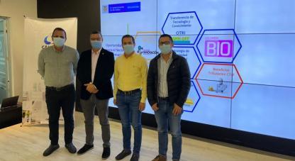 •El viceministro de Conocimiento, Innovación y Productividad, Sergio Cristancho, llegó a la región para anunciar la oferta institucional y el portafolio que ofrece el MinCiencias para las empresas locales.