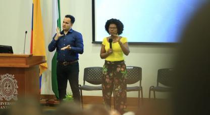 La Ministra de Ciencia, Tecnología e Innovación, Mabel Gisela Torres Torres,  participa en un nuevo encuentro dentro del proyecto Diálogo de Saberes en la Universidad de Antioquia.