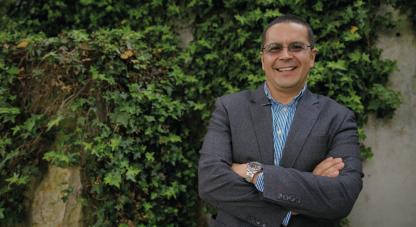 Juan Armando Sánchez, biólogo e investigador benficiario de Colciencias